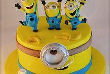 Birthday cake_Big Hero & Minions