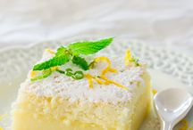 Lemon magic cake