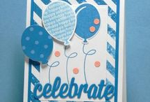 Cards--Balloons, Kites, Birthday