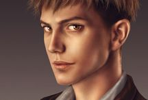 Realistic (or not) anime portraits