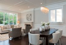 Dining Rooms Extraordinaire / Beautiful dining rooms / by JDL Homes