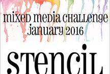 HLS January 2016 Mixed Media Challenge