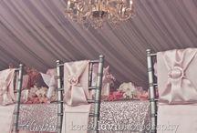 Wedding table / Wedding table- masa dekoru-bridal- bridal shower- dekorasyon- pink-gold-winter- silver - white- purple-  / by İnan Events