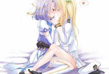 Yuri / Anime Girls, Yuri, Lesbians