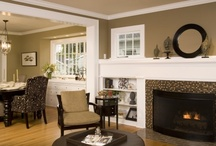 Fireplaces and cabinetry / by Bonnie :: organizeme.com
