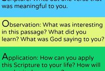 Devotion scripture Bible study