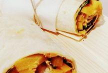Tortilla wrapy / Pyszne tortilla wrapy z kurczakiem, humusem i warzywami