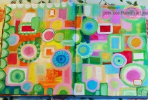 ART JOURNAL PAGES / by Mary Perlow
