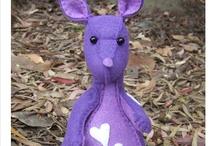 Kangaroo softie