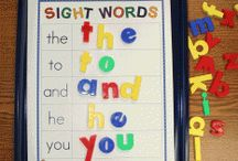 Preschool - letters & words