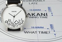What Time? / What Time? was created to remind us that the exact time doesn't always matter. Time doesn't always need to be so structured. The fallen numbers in this piece represent breaking that standard mold, while the unconventional design is embodied in a classic style to show you can have fun and look fashionable doing it. What Time? by RAKANI, Break The Standard. / by RAKANI WATCHES