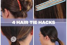 I really like the way you can re-purpose your hair tools!