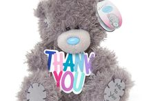 Me to You Thank You Bears & Cards