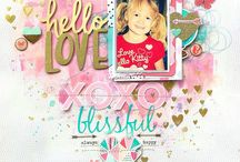 Craft - Scrapbooking - Plan these pages