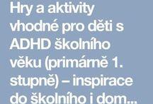 Aktivity pro deti s ADHD