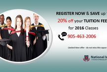 20%off on TUITION FEES / We are now enrolling in our courses that are starting in January 2016.Avail 20% off on TUITION FEES. Check out our website for more details..