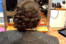 Hair ups created by A'Courts
