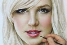 Portrait drawing / by Patrick Vincent