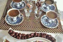Kahve sunumlari