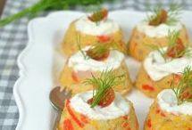 pastelitos de surimi y atún