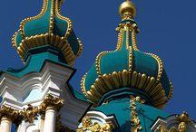 Украина здания и люди / Украина является красивая страна с жизнью, счастливых людей, удивительную историю - когда-нибудь я буду жить там! / by Randolph Carter