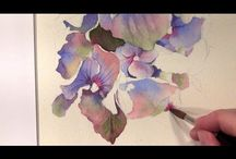 Art   ( Watercolor tutorials )