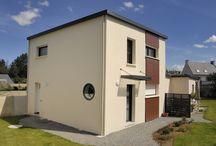 Trecobat : Maison individuelle avec terrasse en bois