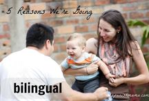 Tips from Bilingual Kid Bloggers / Tips and ideas for parents raising bilingual children.