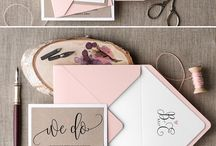 Wedding Stationery / Wedding Invitations - from the simple to the more elaborate! Stationery can be a great way to start setting the scene and theme for your big day!