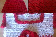 My crochet baby