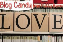 Blog Candy / Free rubber stamping and crafting Blog Candy give aways from Patty Bennett at www.PattyStamps.com  / by Patty Bennett