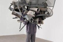 sculptural human object