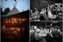 Tipi wedding via Boho Weddings blog