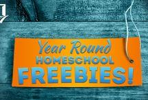 Year Round Homeschool Freebies / by Homeschool.com