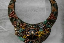 Piaf design - Luxury necklace / Handmade necklaces made of Czech glass.