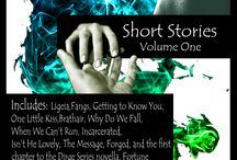 Dirge Series short story, book, and novella covers / Get the feel for the story before you dive into the Dirge World!