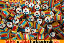 Collaboration Series. Zati.Lolly by LollyTalk / Zati.Lolly by LollyTalk in collaboration with Izzati is more than just a candy mix. According to Izzati herself, the launching of Zati.Lolly is about celebration of life, is about believing in oneself and achieving dreams bigger than oneself, as well as a movement in living life to the fullest while loving yourself. Let us all join hands together with Izzati to motivate more youth in the coming days with a more positive attitude towards their life.