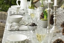 Table setting and hosting
