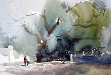 Watercolor impression