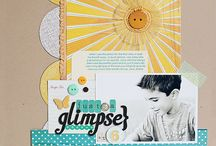 Scrapbook Inspiration / by Erin Haskell