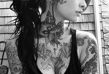 Tattoo / Rose tattoo on hand