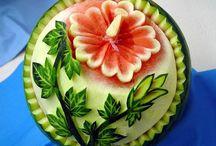 Fruit & vegetable art