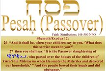 Pesach and Festival of Unleavened Bread! Hallelu YAHWEH