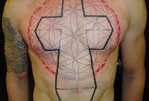 justice cross tattoo