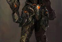 Armaduras, Escudos, Peças de Armadura etc RPG