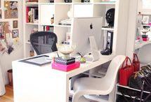 Work Spaces, Studies & Home Libraries / by nanne cutler