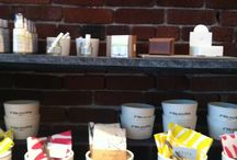 Brick and Mortar Shops that sell Handmade Items / Map of brick and mortar shops around the US that sell handmade items. From details on Unanimouscraft.com