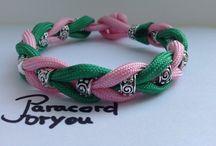 Paracord-Armbänder