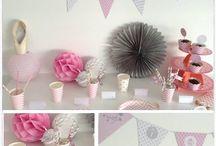 Ballerine party / My lovely party ballerina urodziny