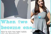 Triangle t shirt inserts